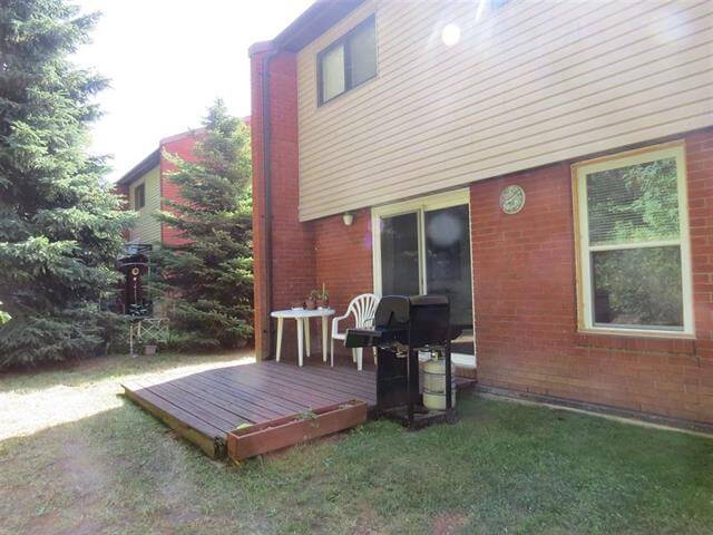 12 Capital Place Elliot Lake Townhouse Condo Rear