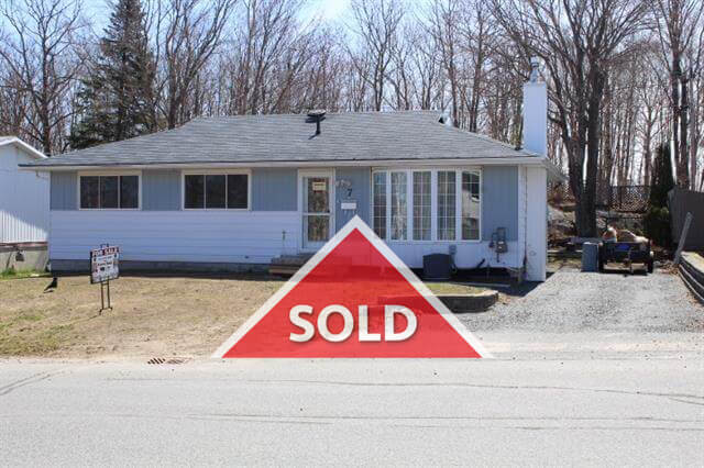 7 Ferguson Road Elliot Lake SOLD